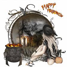 funny halloween witch sayings animated gif cartoon clipart images
