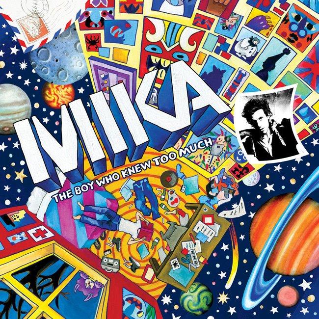 online store 29840 1f90b Album Cover Critiques: Mika - Cartoon Covers