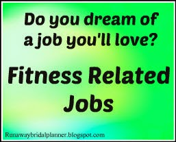 Fitness Related Jobs