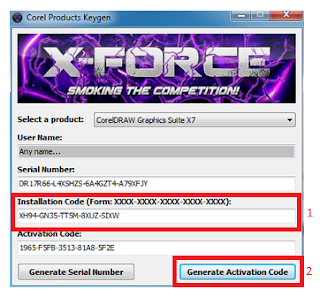 Tutorial Cara Instal dan Aktivasi Corel Draw X7 Agar Full Version Terbaru
