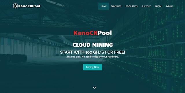 Cara Mining Bitcoin Gratis 100 GH/s dari Situs KanoCKPool.com