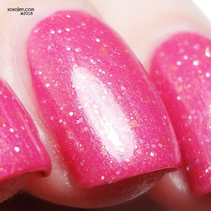 xoxoJen's swatch of My Indie Polish You Don't F*** With Debbie Gallagher