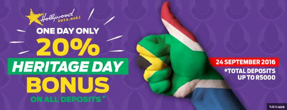 Heritage Day Bonus