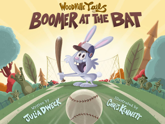 Boomer at the Bat (Woodville Tales Book 1) by Julia Dweck