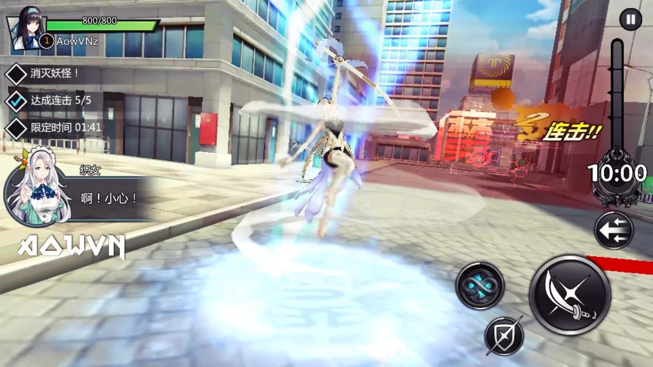 AowVN%2B%252813%2529 - [ ONLINE ] Extradimensional War Kyi | Android & IOS - Game anime chặt chém cực hay + Update cách đăng kí game
