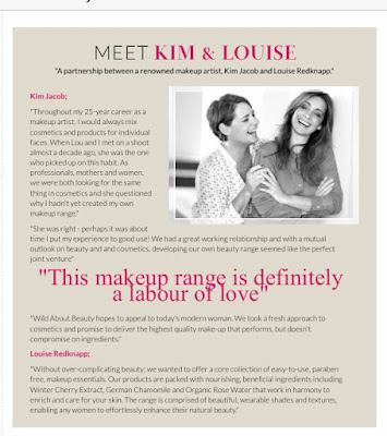 Wild About Beauty 40%OFF with Strictly's Louise Redknapp and her makeup artist Kim Jacobs