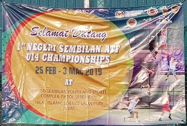 Putu Kevalaih/Francesca Heidi Tan Runner-up Turnamen Tenis ATF Malaysia
