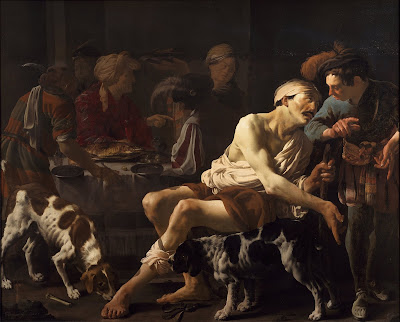 Imagem de Lázaro e o rico, pintura, #3