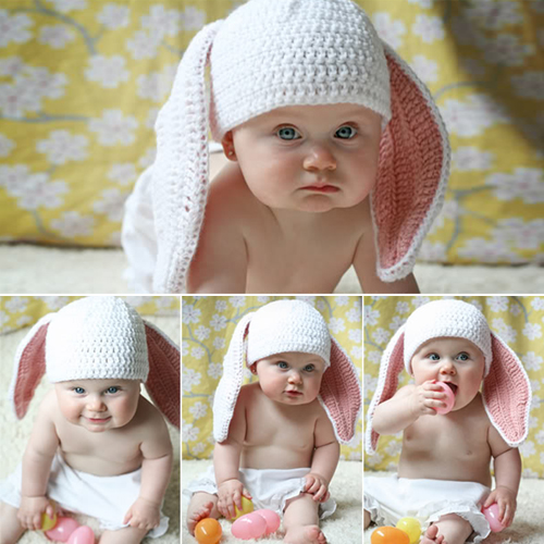 Little Cottontail Hat - Free Pattern