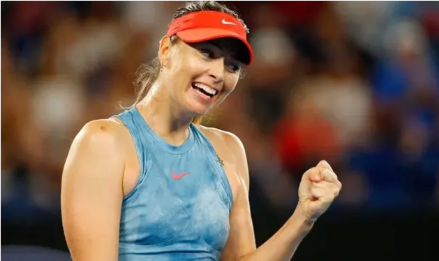 Australian Open Maria Sharapova defeated the defending champion