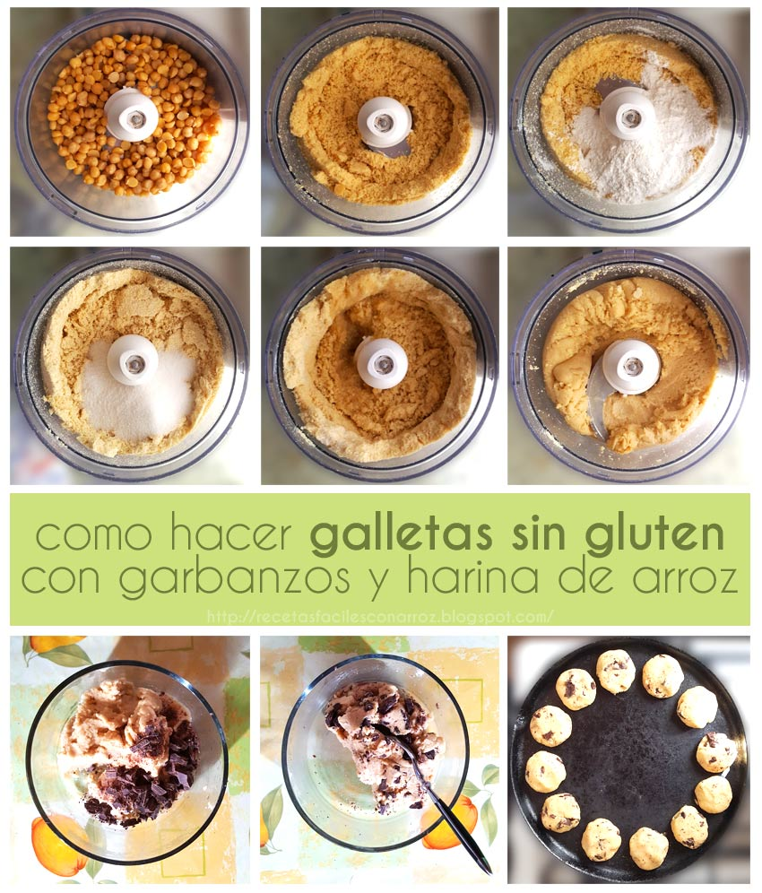 galletas chips chocolate fototutorial