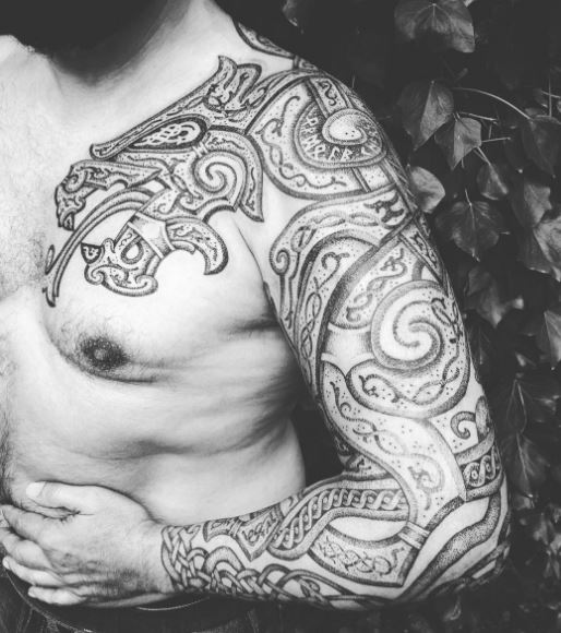 Viking Tribal Tattoo: 270+ Traditional Viking Tattoos And Meanings (2019) Nordic