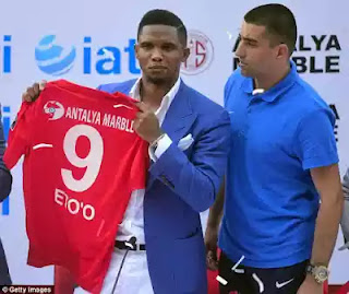 Samuel Eto'o becomes coach of Turkish club Antalyaspor