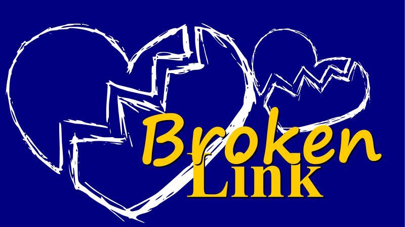 Memperbaiki broken link pada blog