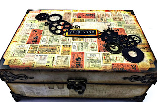 Upcycle medicine box