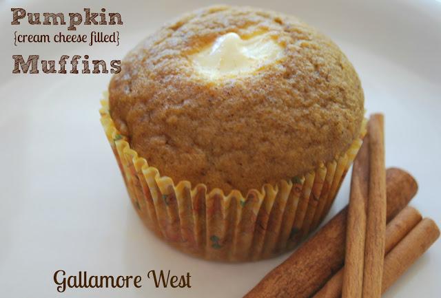 Pumpkin Cream Cheese Filled Muffin Recipe Tatertots And Jello