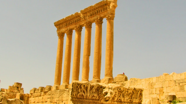 The Temple of Jupiter, Baalbek Lebanon