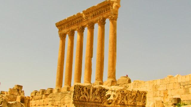 The Temple of Jupiter, Baalbek Lebanon