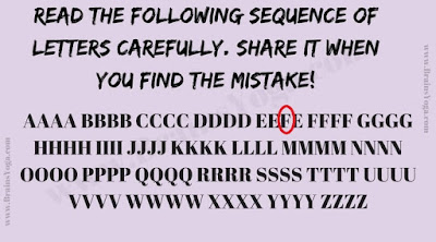 Answer of Mistake Picture Puzzle