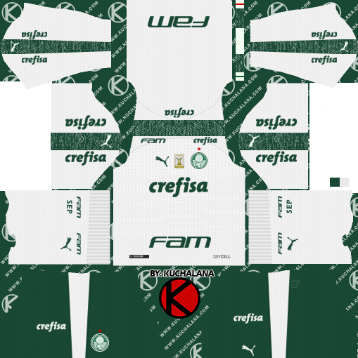 af29e8d7733 Palmeiras Kits 20192020 Dream League Soccer