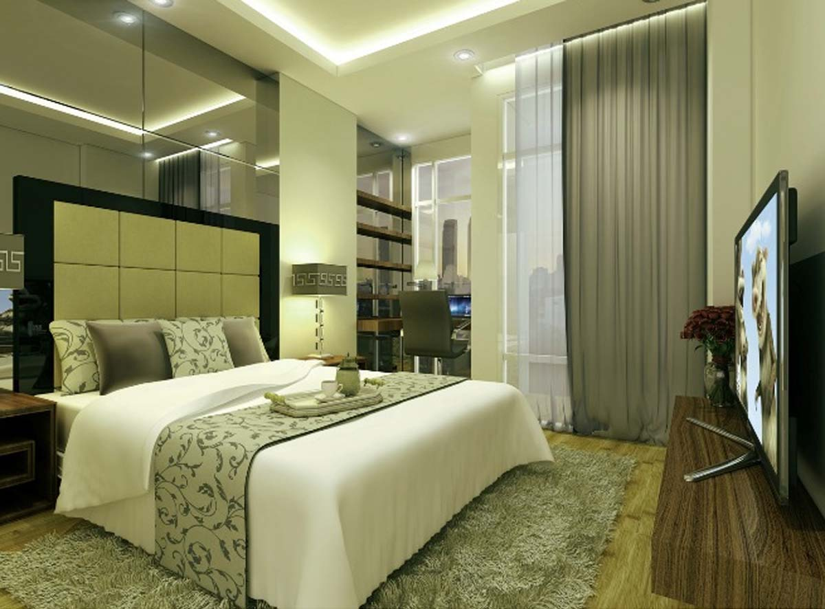 22+ Gambar Desain Kamar Tidur Minimalis Modern PNG   SiPeti