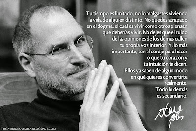 Consejos de Steve Jobs para alcanzar el éxito