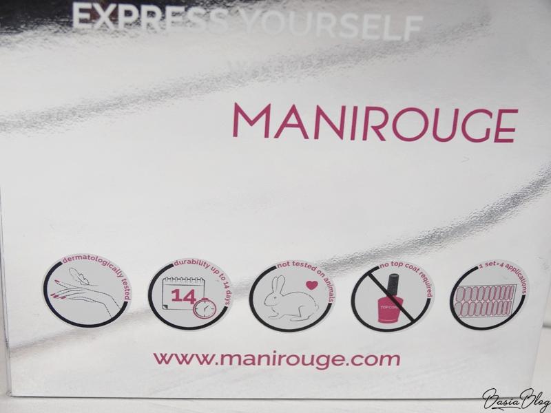 Ozdoby termiczne Manirouge, naklejki
