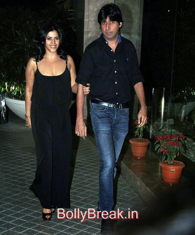 Ekta Kapoor, Bollywood Celebrities At Farah Khan's GRAND 50th Birthday Party