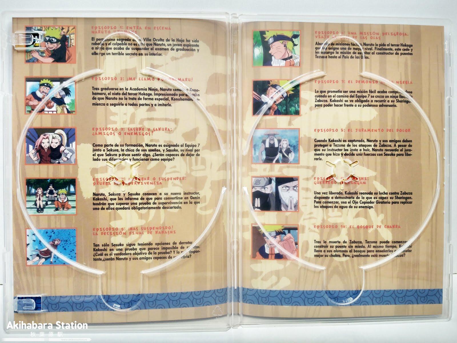 Reseña de Naruto DVD BOX 1 - SelectaVisión