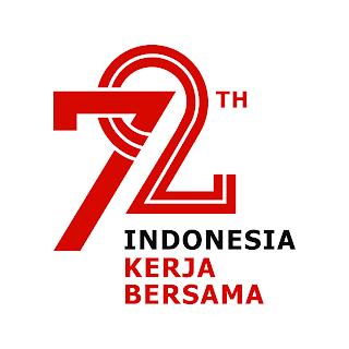 Logo HUT RI ke 72 PNG