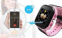 Logo Smartwatch GPS per la sicurezza dei bambini: codice sconto del 50% a soli € 14,99! fino ad esaurimento