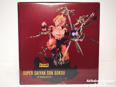 "Review del Figuarts ZERO Super Saiyan Son Goku de ""Dragon Ball Z"" - Tamashii Nations"