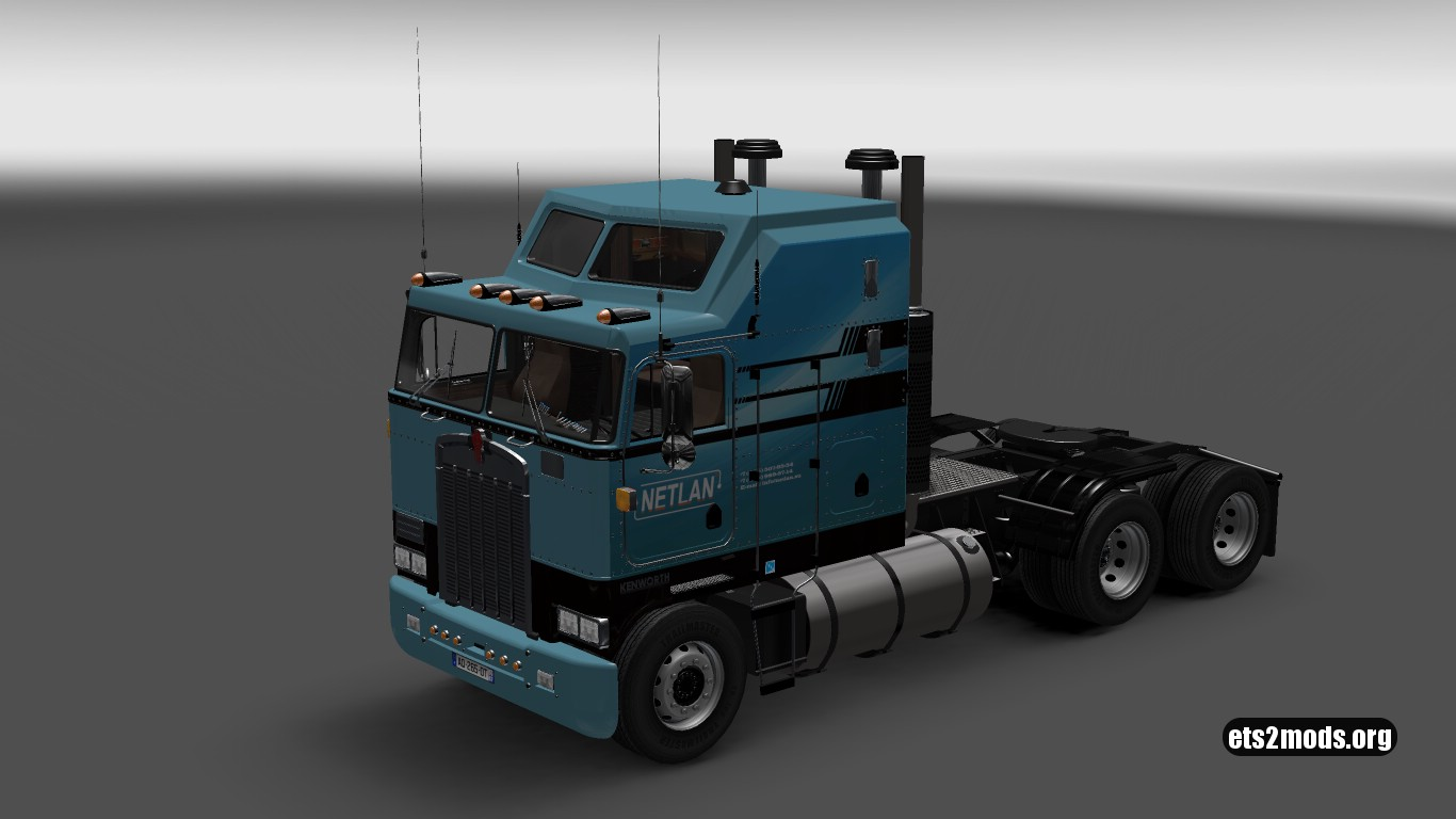 Netlan Skin for Kenworth K100