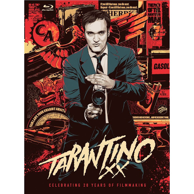 Quentin Tarantino Poster Cartoon
