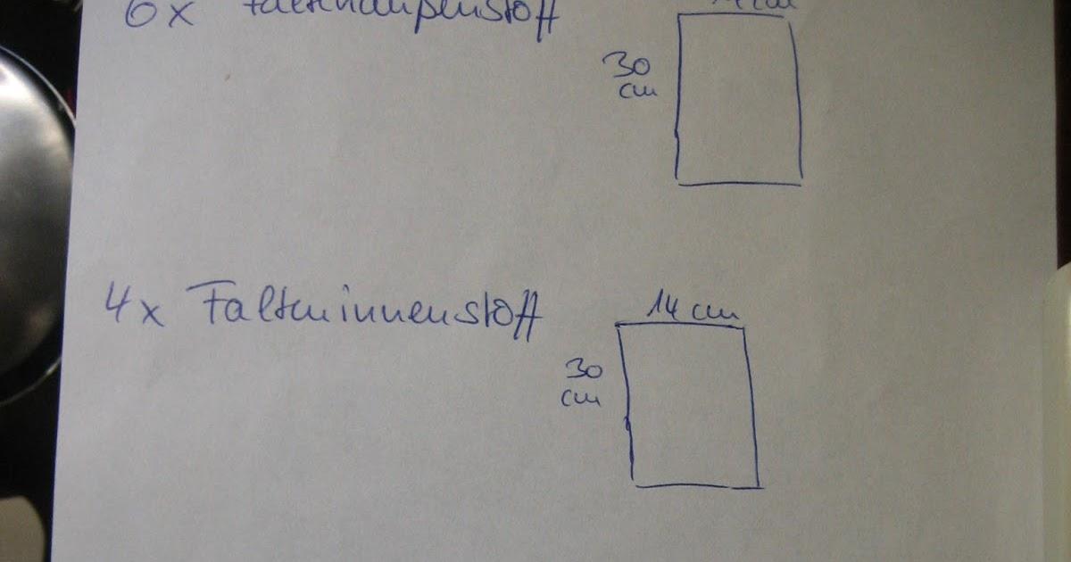 by Keksie: Wir nähen uns eine Faltentasche :)