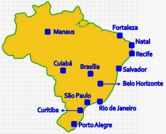 ciudades brasil