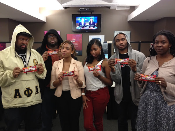 Send Your Skittles For Trayvon Martin!