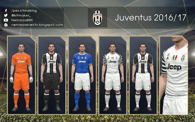 PES 2017 Juventus 2016/17 GDB by Nemanja