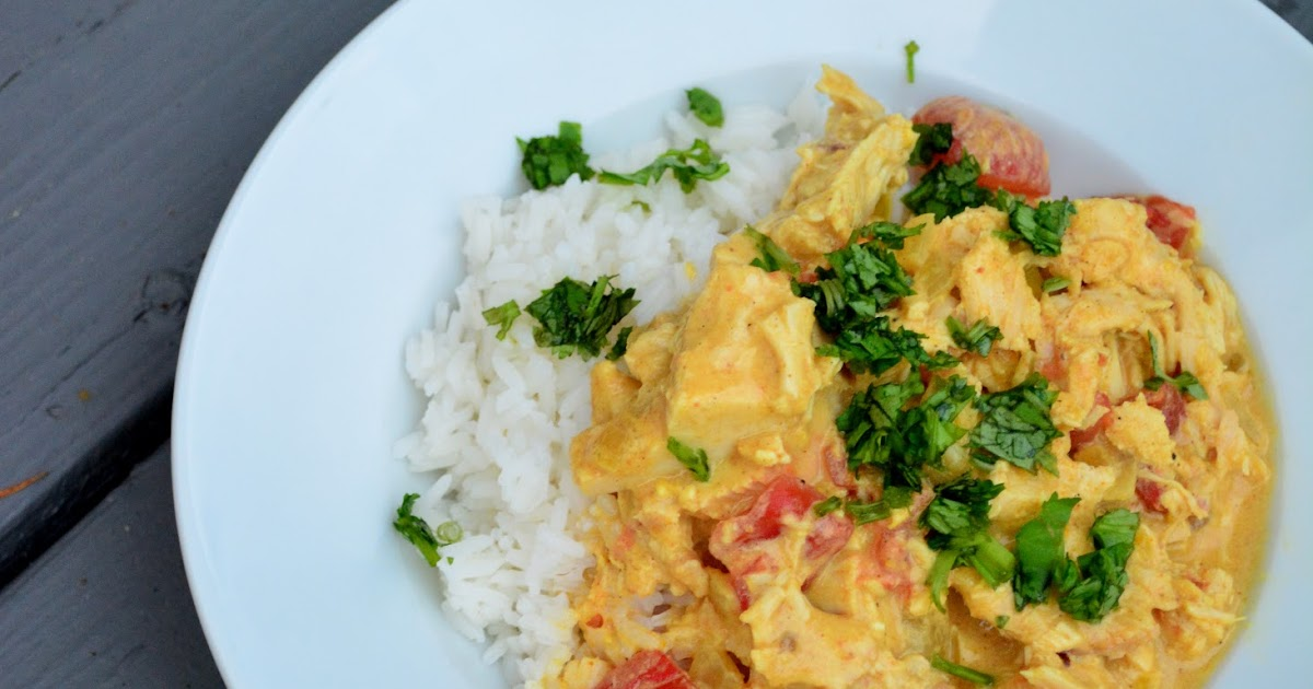 Lizzy Write Coconut Chicken Curry