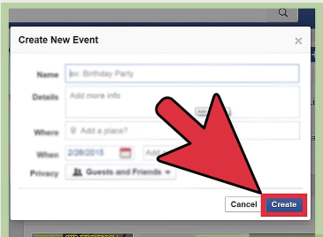 How to Create an Event on Facebook Page
