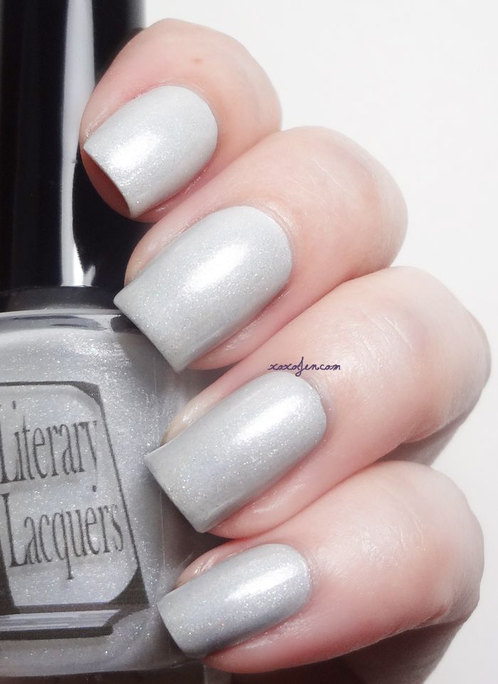 xoxoJen's swatch of Literary Lacquer Tesseract