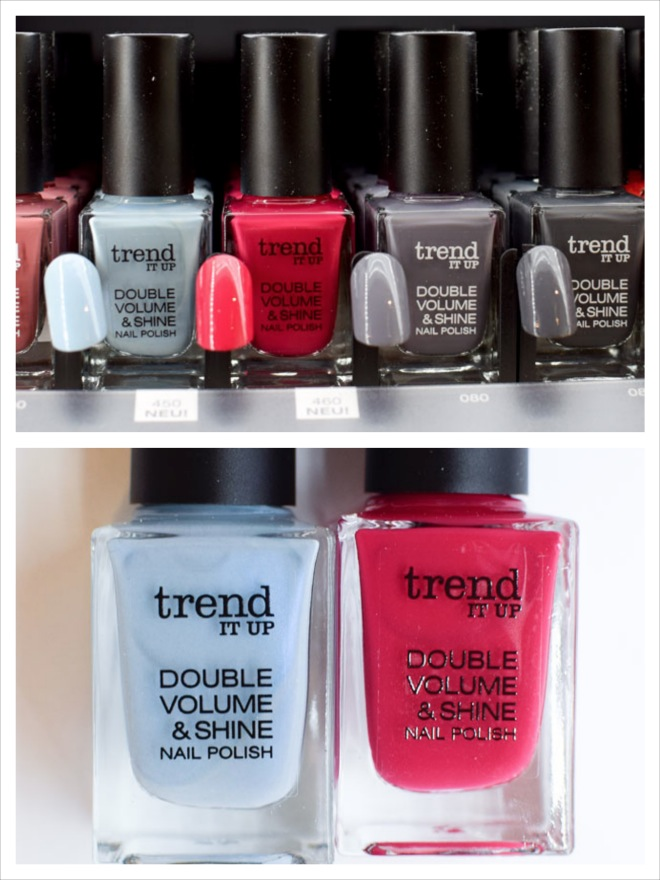 trend IT UP Double Volume & Shine Nagellacke, neues Sortiment Update 2017