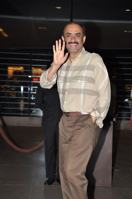 Suresh babu at Megastar Chiranjeevi Birthday Party