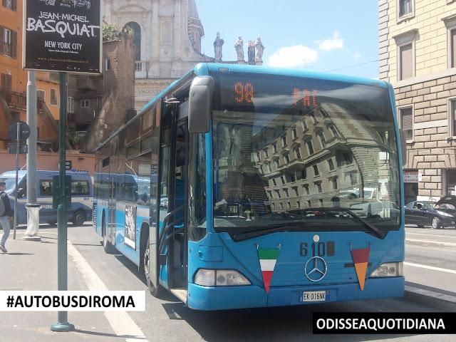 #AutobusDiRoma - I tedeschi blu di Atac