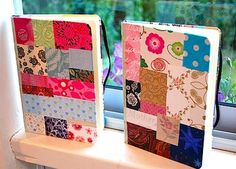 Paper Patchwork Notebook Cover