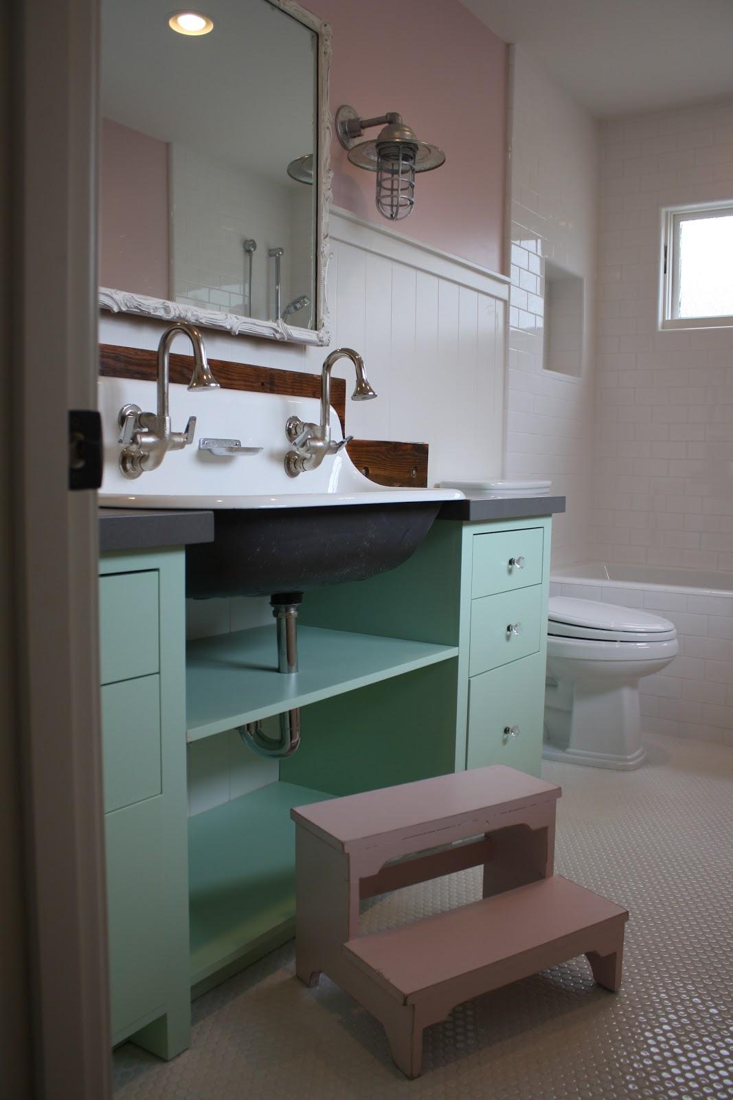 Rustic Rooster Interiors Little Girls Bathroom Interior