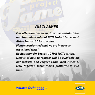 MTN Project Fame - lawsonjamesblog, Entertainment News