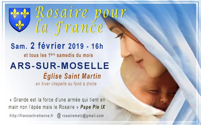 Rosaire pour la France - Ars-sur-Moselle (57) - 1ers sam. du mois 16h - église Saint Martin 02%2Bf%25C3%25A9vrier%2B2019%2Brosaire%2Bfrance%2Bars%2B02version