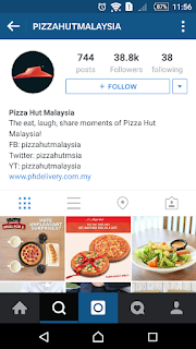 Pizza Hut MY on Instagram