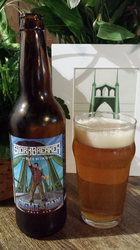 Beer Guy Pdx Stormbreaker Brewing Right As Rain Pale Ale